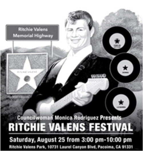 Ritchie Valens Memorial Highway T-Shirt